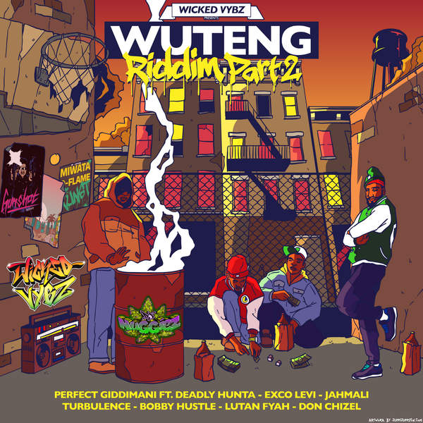 WUTENG RIDDIM PART 2 [JUGGLERZ RECORDS] (2016)