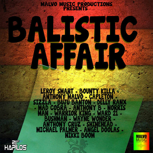 Balistic Affair Riddim [Malvo Music Productions] (2016)