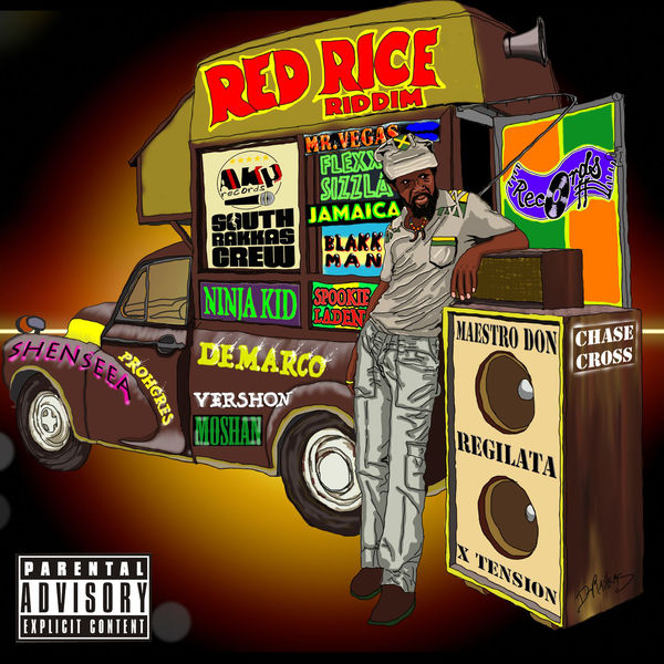 Red Rice Riddim [South Rakkas Crew & AKP] (2017)