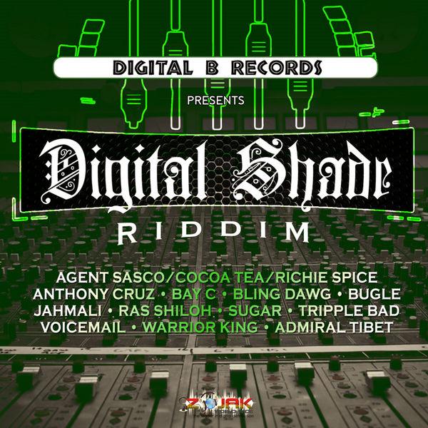 Digital Shade Riddim [Digital B Records] (2017)