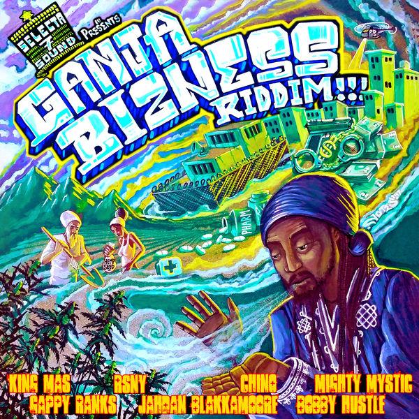 Ganja Bizness Riddim [Selecta 7 Sound] (2017)