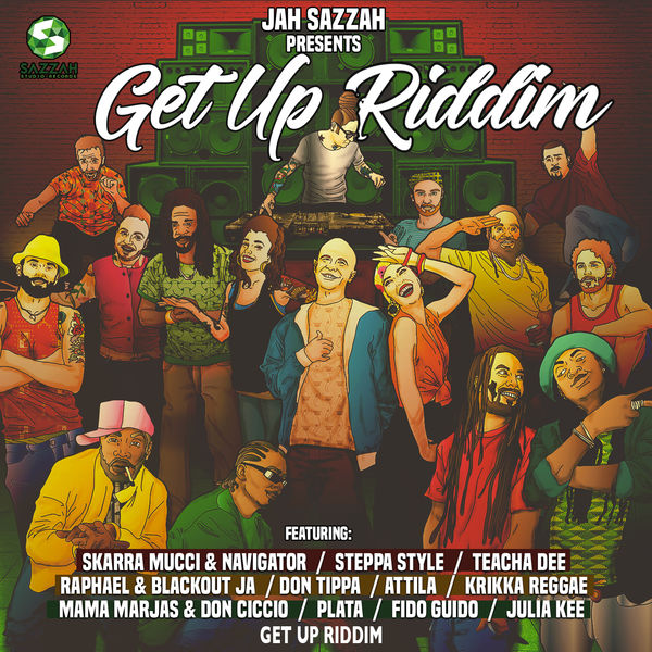 Get Up Riddim [Sazzah Studio Records] (2017)