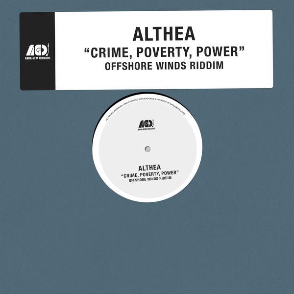Althea - Crime, Poverty, Power (2017) Single