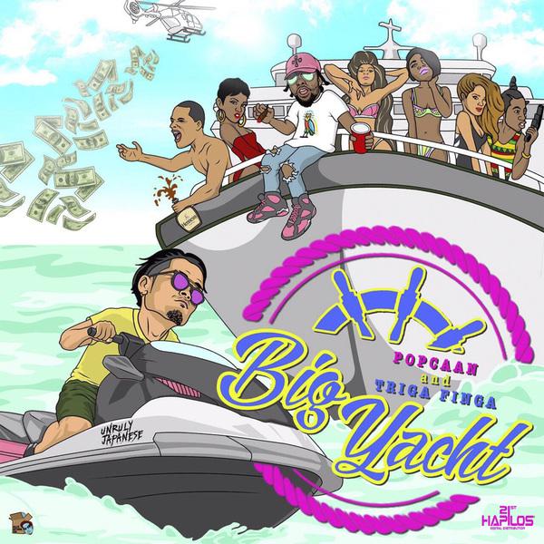 Popcaan & Triga Finga - Big Yacht (2017) Single