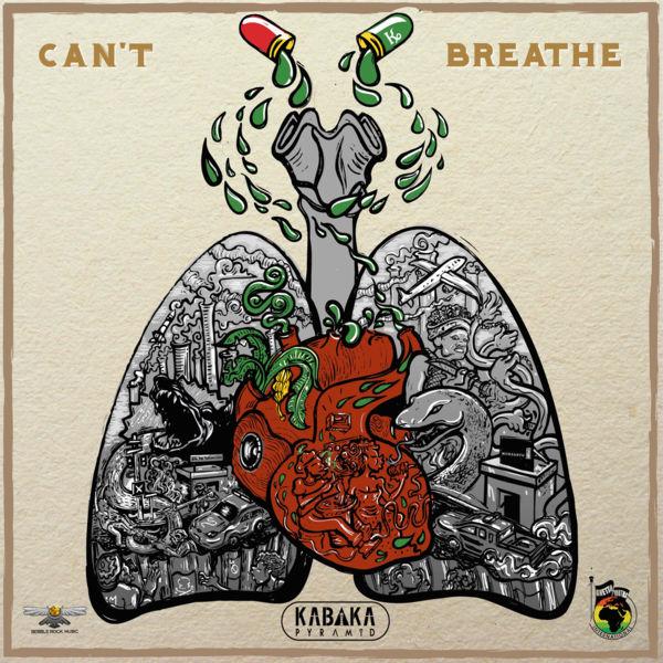 Kabaka Pyramid - Can't Breathe (2017) Single