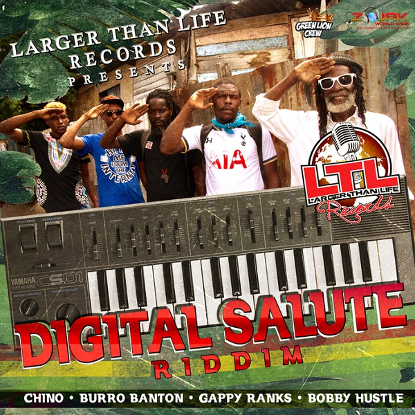 Digital Salute Riddim [Larger Than Life Records] (2017)