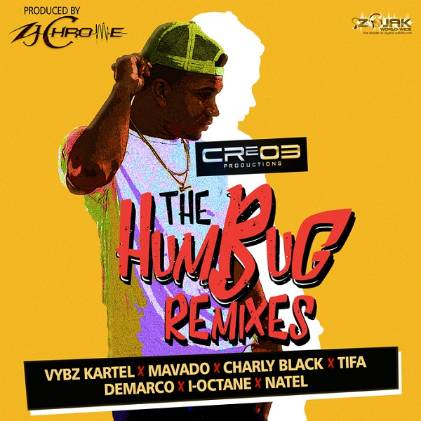 The Humbug Remixes [ZJ Chrome / CR203 Records] (2017)