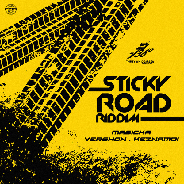 Sticky Road Riddim [Thirty Six Degrees Records] (2017)