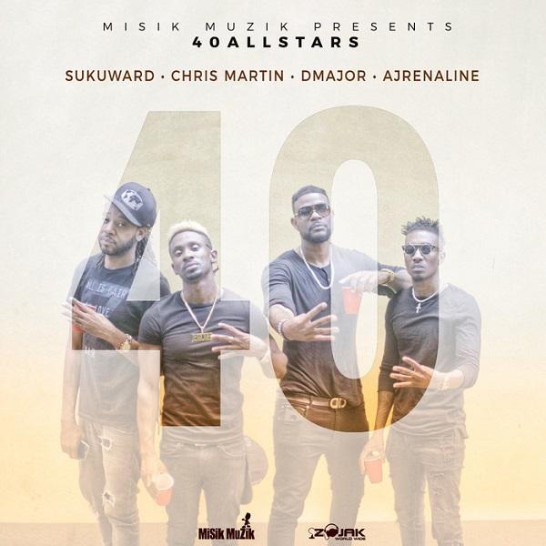 Suku, Chris Martin, D Major & Ajrenalin - #40 (2018) Single
