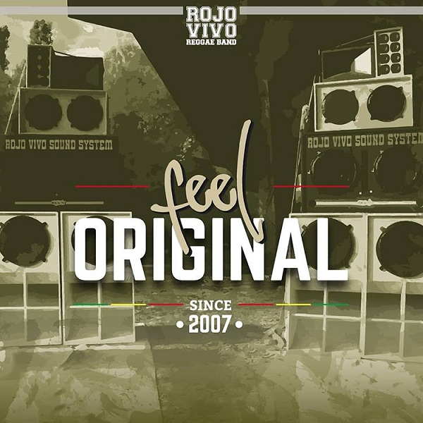 Rojo Vivo Reggae Band – Feel Original (2018) Album