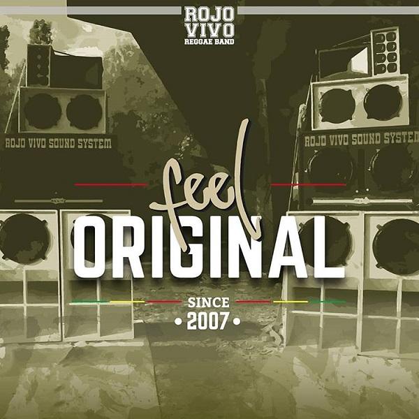 Rojo Vivo Reggae Band – Feel Original (2018) Album