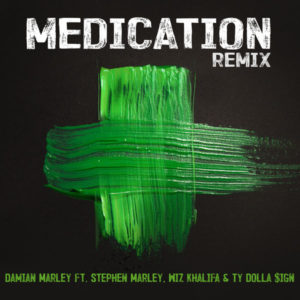 Damian Marley feat. Stephen Marley, Wiz Khalifa & Ty Dolla $ign - Medication (2018) Remix