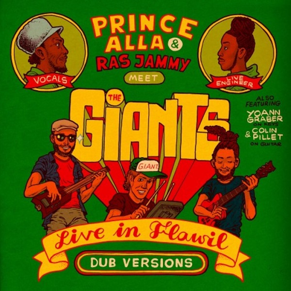 Prince Alla & Ras Jammy Meets the Giants - Live in Flawil (Dub Versions) EP