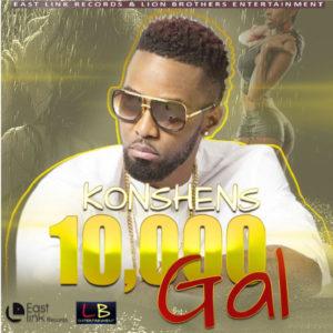 Konshens - 10,000 Gal (2018) Single