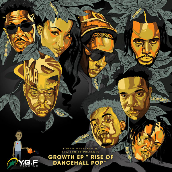 Growth EP - Rise Of Dancehall Pop (2018) EP