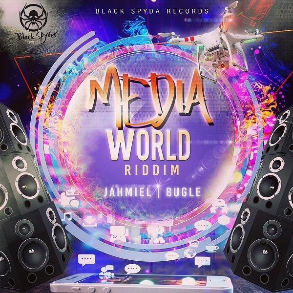 Media World Riddim [BlackSpyda Records] (2018)