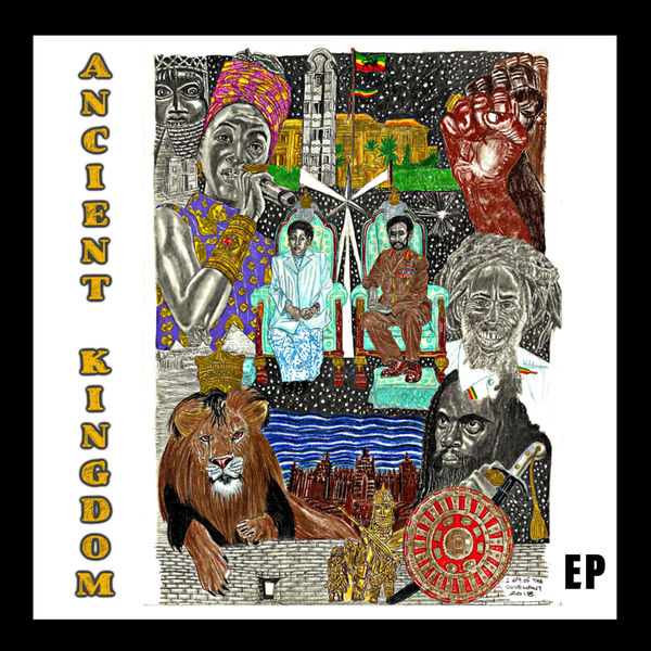 Hempress Sativa, Daweh Congo & Ras Malekot - Ancient Kingdom (2019) EP