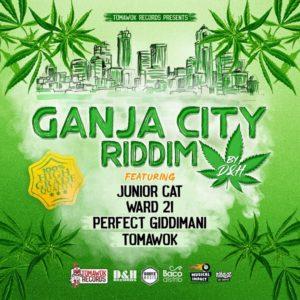 Ganja City Riddim [Tomawok Records] (2019)