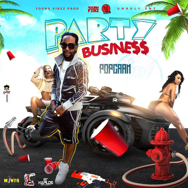 Popcaan - Party Business (2019) Single
