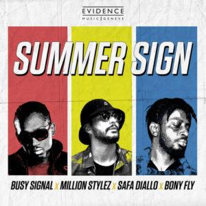 Bony Fly, Busy Signal, Safa Diallo & Million Stylez - Summer Sign (2019) Single