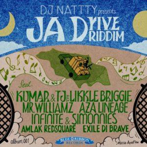 DJ Nattty presents: JA Drive Riddim [Blue Ribbon Records] (2019)