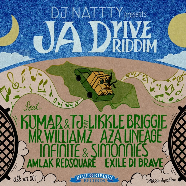 DJ Nattty presents: JA Drive Riddim [Blue Ribbon Records] (2019)