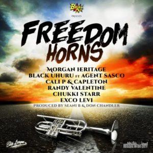 Freedom Horns Riddim [BrukOut Records] (2020)