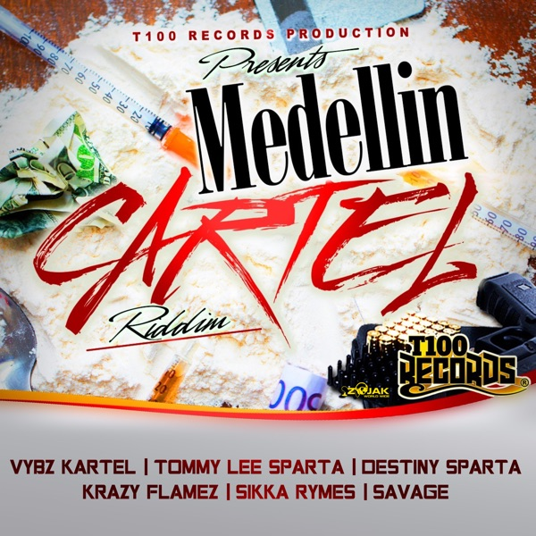 Medellin Cartel Riddim [T100 Records] (2020)