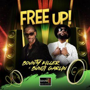 Bounty Killer x Bunji Garlin - Free Up (2021) Single